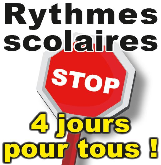rythmes scolaires STOP